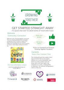Growing Together Leaflet